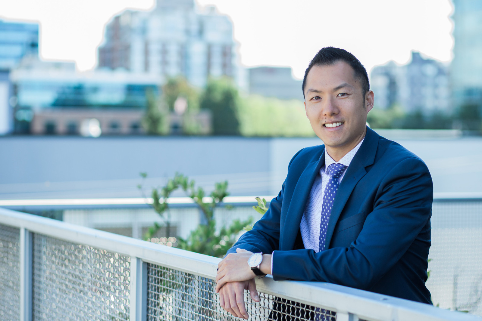 Shaun Sun - Financial Advisor RGF Wealth Vancouver